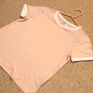 Light pink tee. H&M. Size small